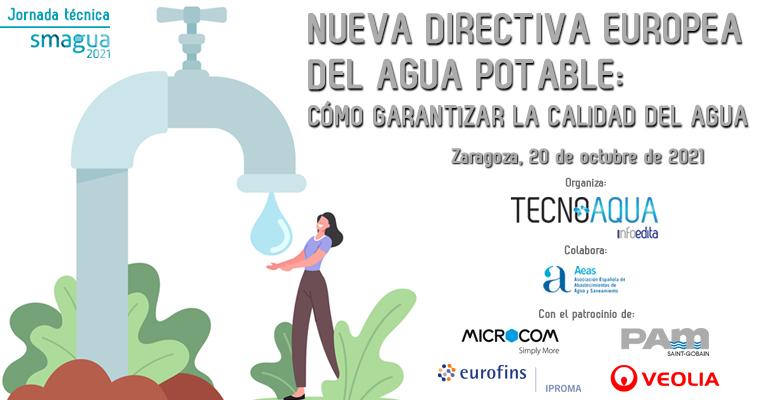 TECNOAQUA organiza la jornada técnica :Cómo garantizar la calidad del agua