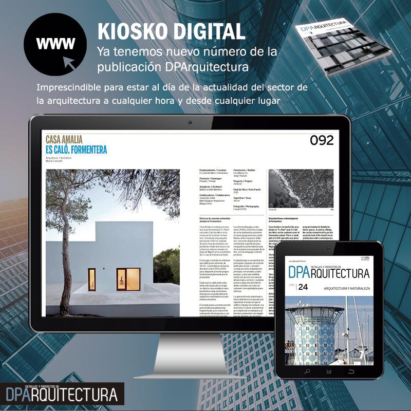 Ya tenemos nuevo número de la publicación DPArquitectura