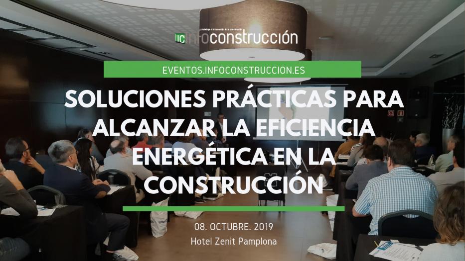 La eficiencia energética en la construcción se trató al detalle en Pamplona