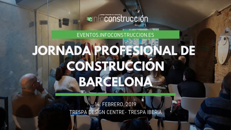 Ya tenemos el vídeo de la jornada profesional de construcción celebrada en Barcelona