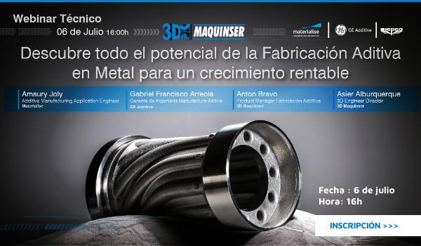 Descubre todo el potencial de la fabricación aditiva en metal