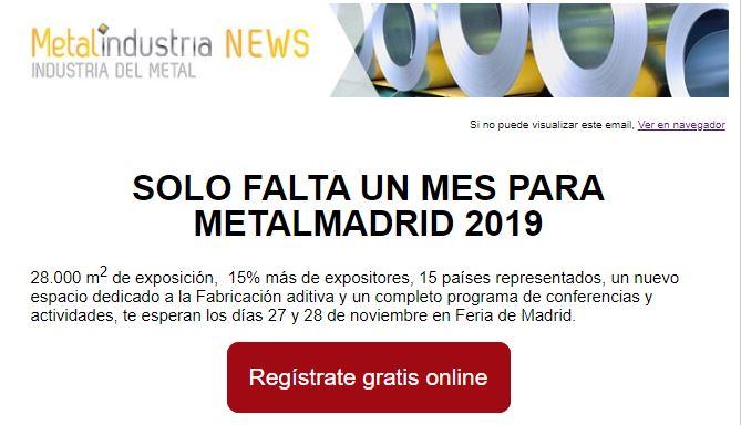 Solo falta un mes para MetalMadrid