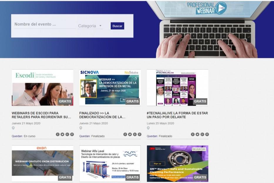 ¿Buscas un webinar 100% presentado por profesionales?