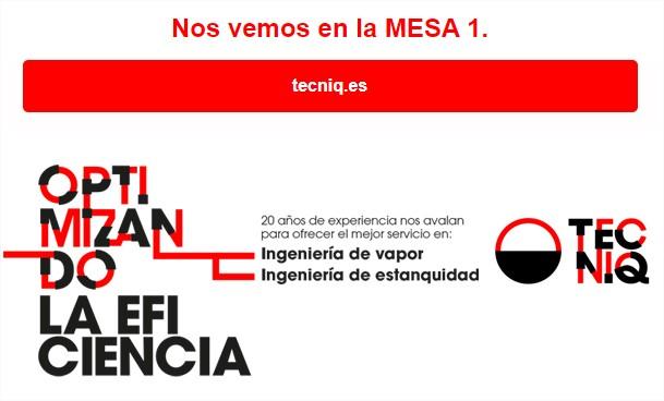 TECNIQ os invita a asistir a IBERQUIMIA 2021