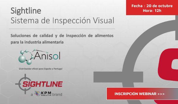 Anisol imparte un webinar sobre calidad e inspección de alimentos para la industria alimentaria