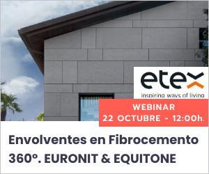 Webinar: Envolventes en Fibrocemento 360º. EURONIT & EQUITONE