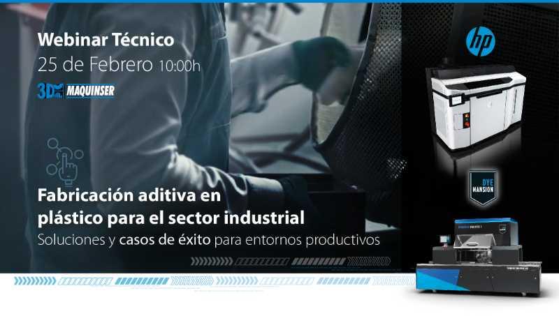 Fabricación aditiva en plástico para el sector industrial