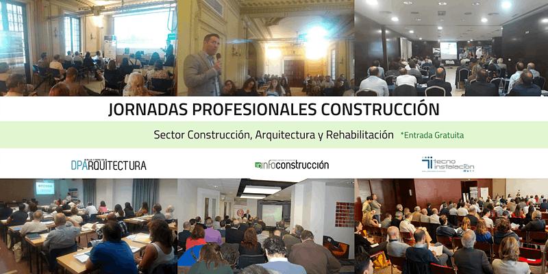 INFOCONSTRUCCIÓN y DPARQUITECTURA le invitan a la jornada profesional de construcción