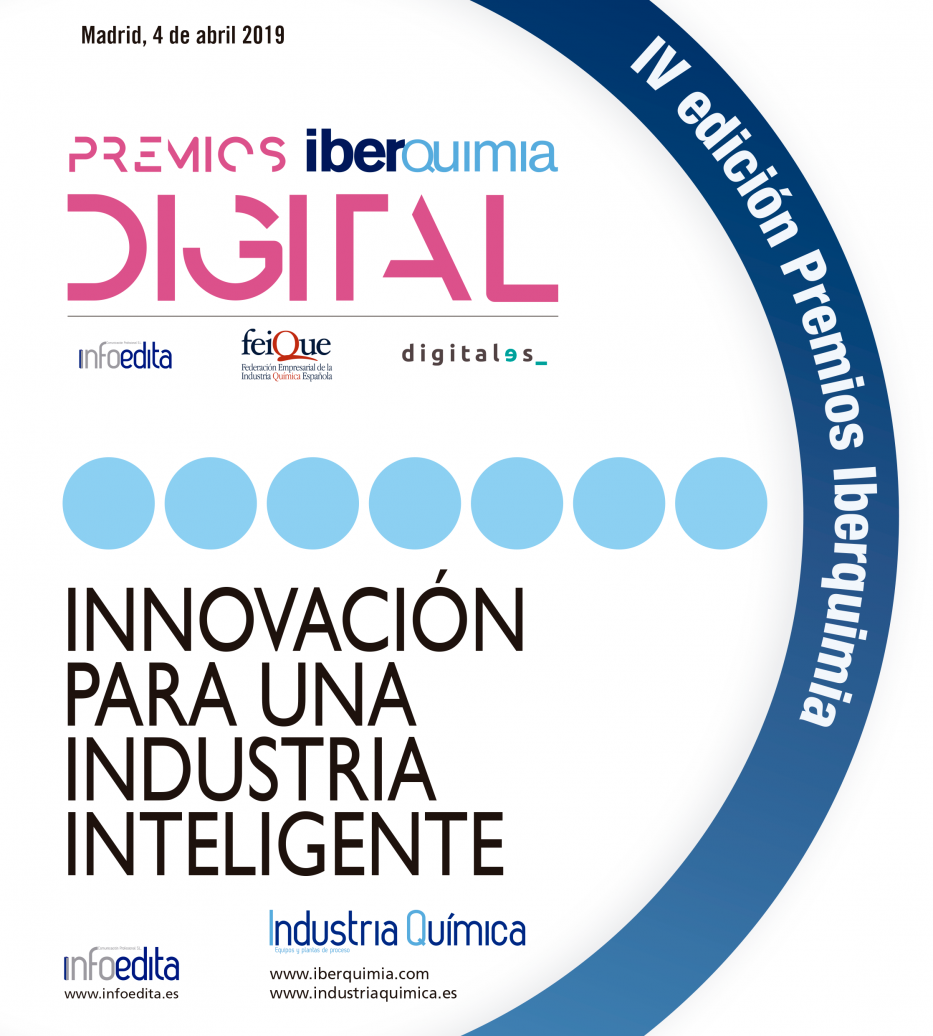 Iberquimia quiere reconocer con la IV edición Premios Iberquimia DIGITAL la labor innovadora de las empresas y los mejores procesos de digitalización