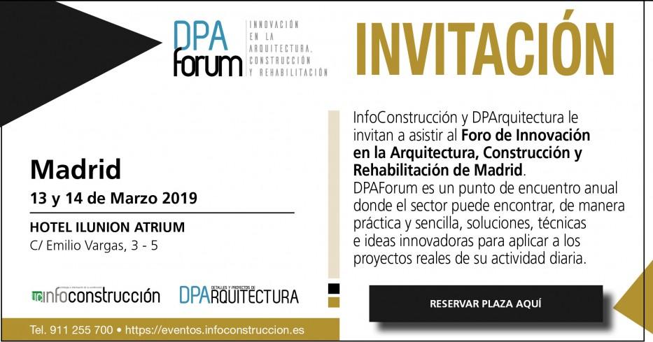 2019 DPA Forum Madrid, Innovación en la Arquitectura, Construcción y Rehabilitación
