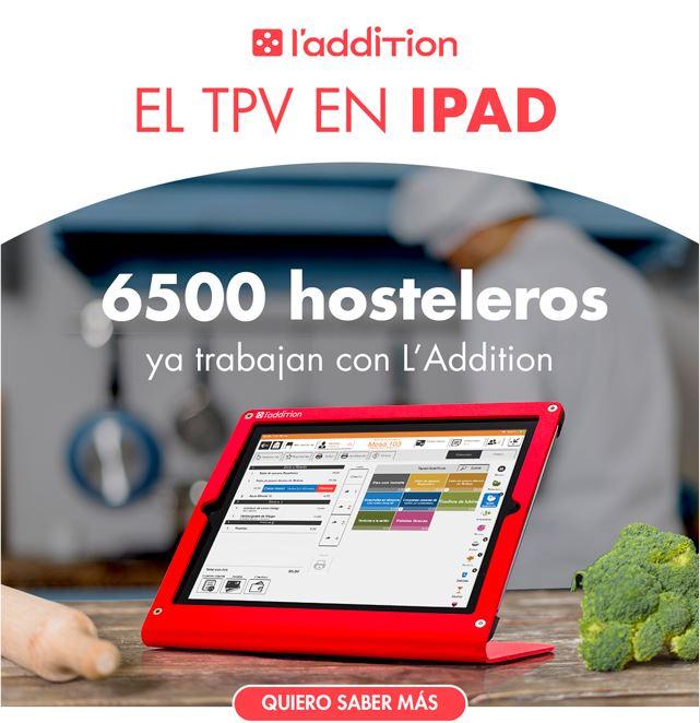 TPV en IPAD para Hostelería