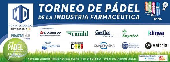 Madrid y Barcelona sedes de la IX edición del torneo de pádel de la industria farmacéutica organizado por MONTAJES DELSAZ y la revista PHARMATECH
