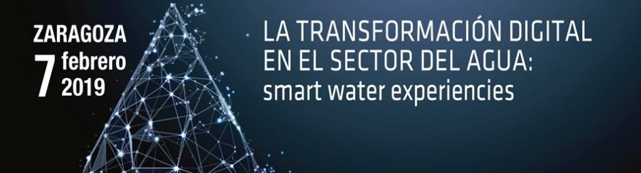Jornada: La transformación digital en el sector del agua: Smart Water Experiences