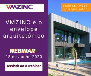 Webinar: VMZINC e o envelope arquitetônico