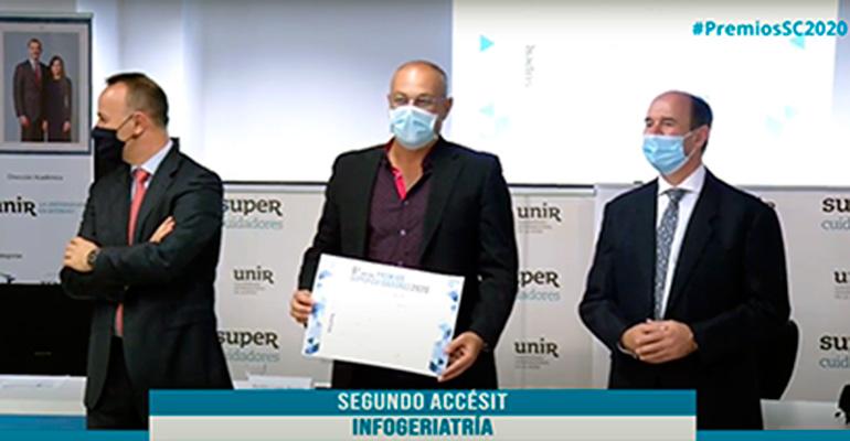 Infogeriatría obtiene un galardón en la sexta edición de los Premios Supercuidadores