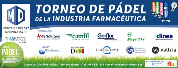 Ya falta poco para la IX edición del torneo de pádel de la industria farmacéutica