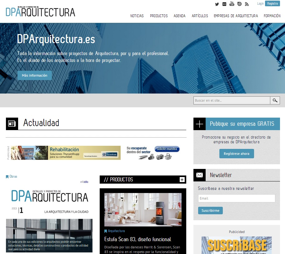 DPArquitectura.es portal de arquitectura