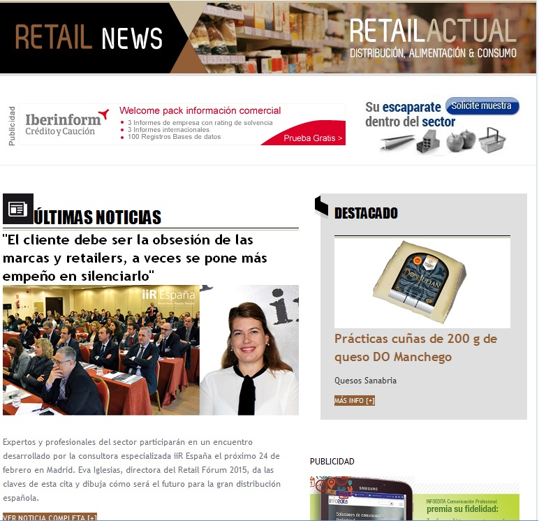 Newsletter Retail Actual