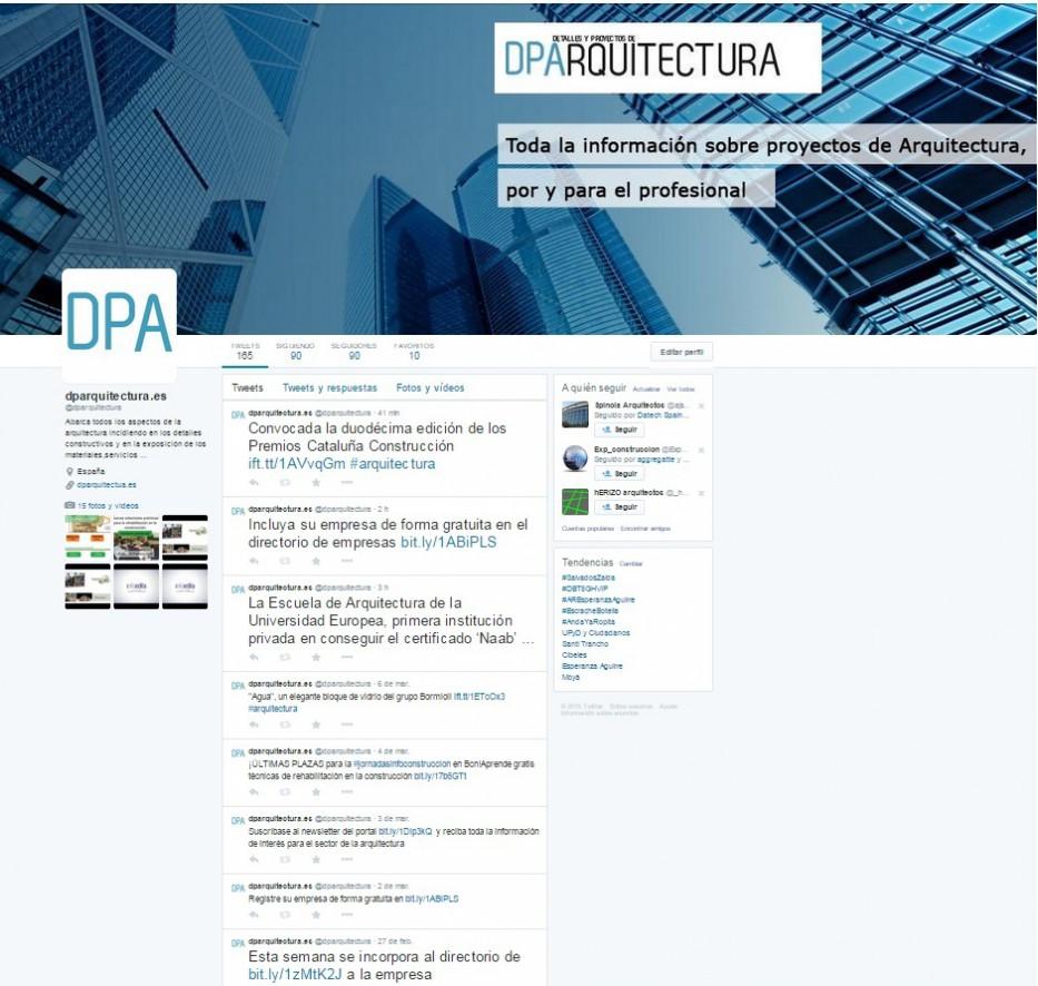 Twitter @dparquitectura