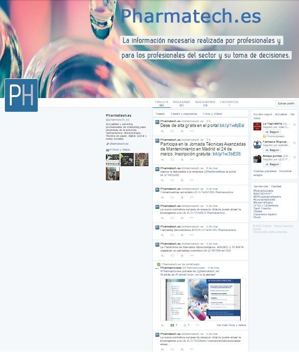 Twitter @pharmatech_es