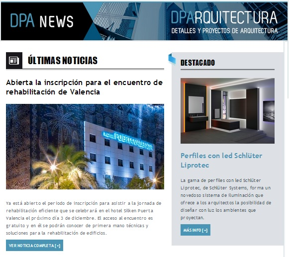 Newsletter DPArquitectura