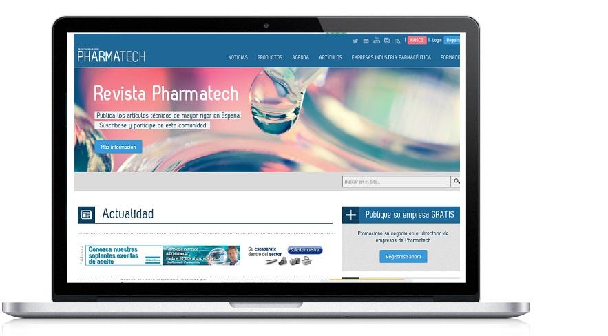 Pharmatech.es  - Portal del sector farmacéutico