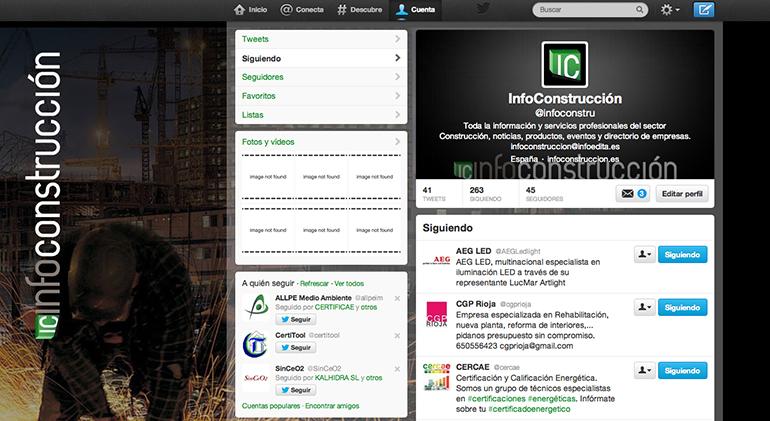 Twitter @infoconstru