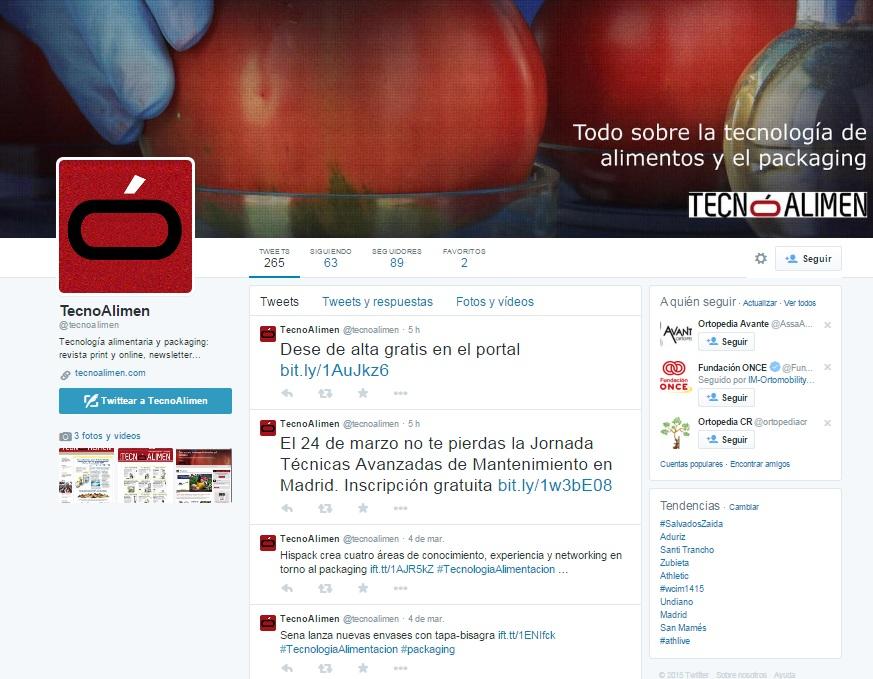 Twitter @tecnoalimen