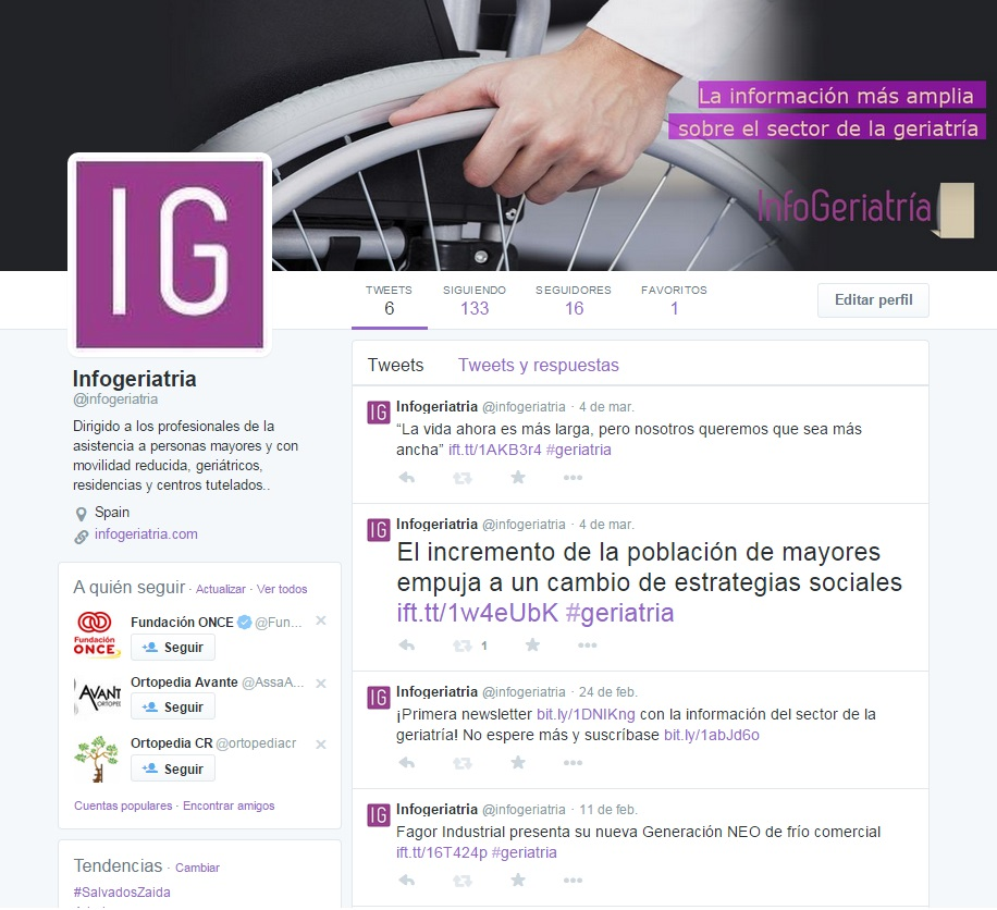 Twitter @infogeriatria